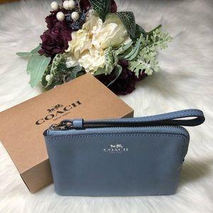 🌹🌹Coach Crossgrain Leather Glitter F15154